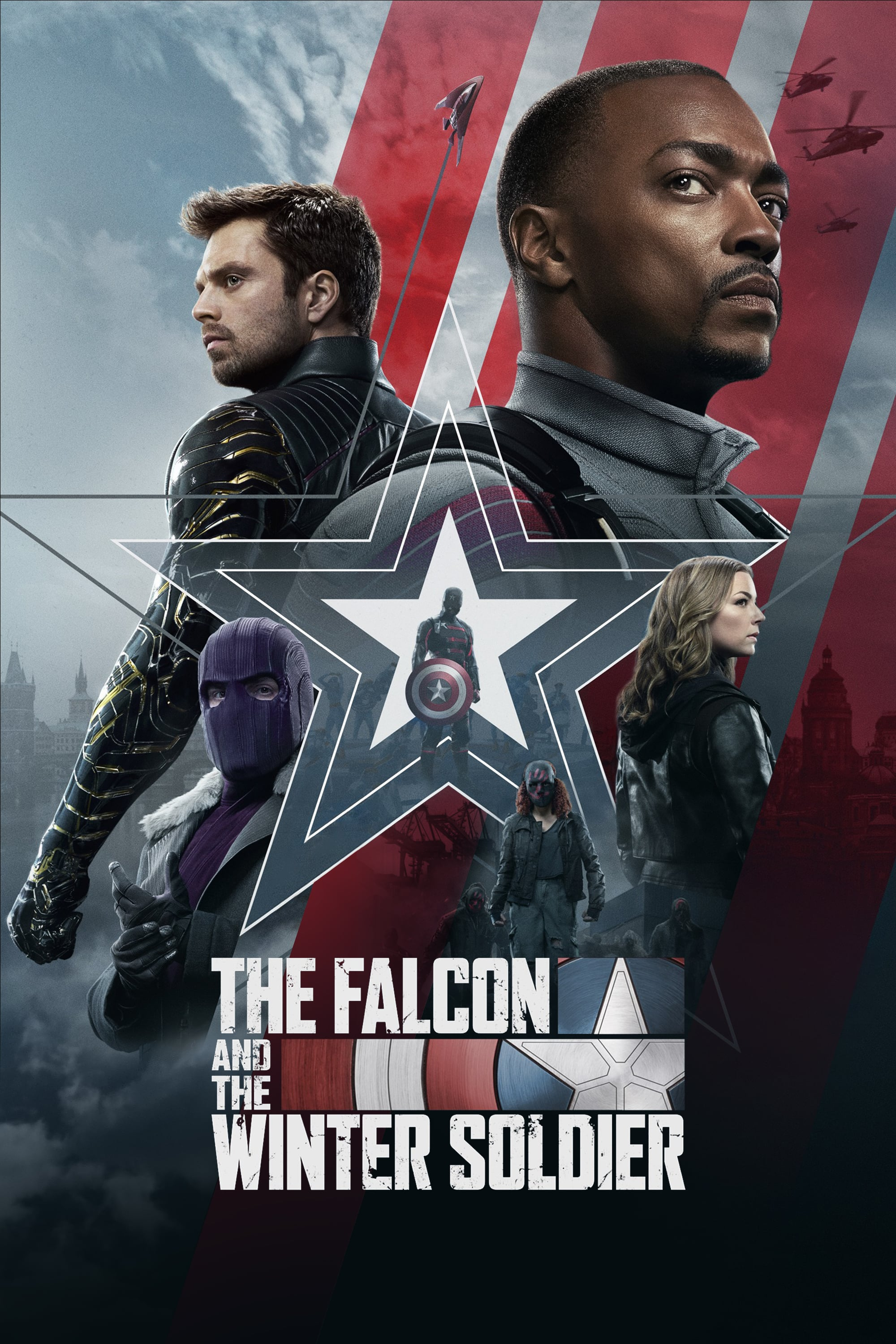 Poster; The Falcon and the Winter Soldier