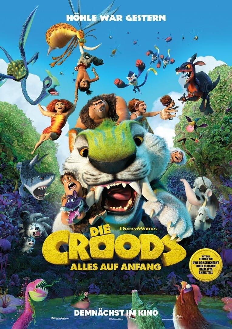 Poster; Die Croods - Alles auf Anfang