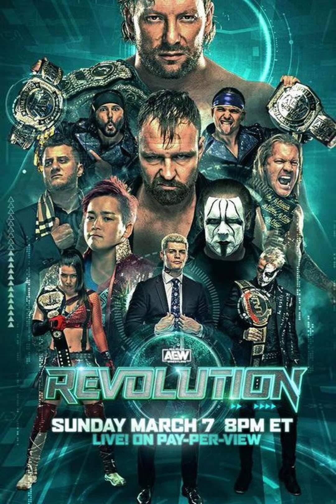 Poster: AEW Revolution 2021
