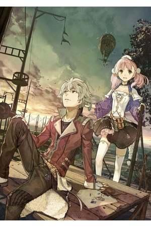 Poster: Escha & Logy no Atelier: Tasogare no Sora no Renkinjutsushi