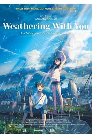 Poster: Weathering with you - Das Mädchen, das die Sonne berührte
