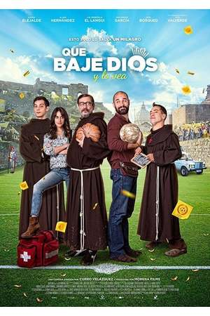 Poster: Die heilige Fußballelf