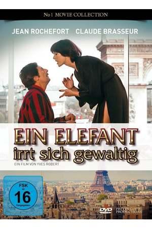 Poster: Ein Elefant irrt sich gewaltig