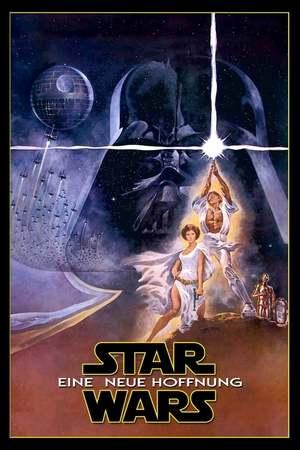 Poster: Krieg der Sterne