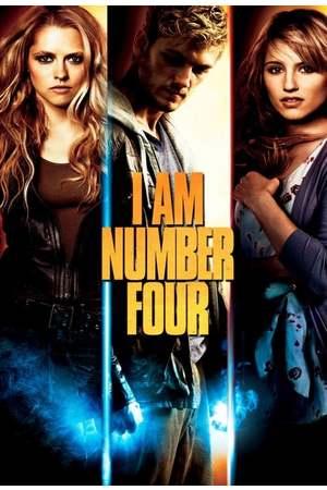 Poster: Ich bin Nummer Vier