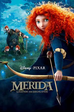 Poster: Merida - Legende der Highlands