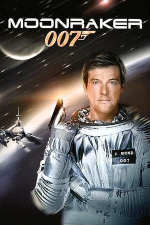 Poster: James Bond 007 - Moonraker - Streng geheim