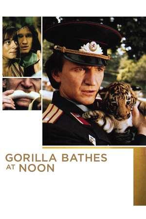Poster: Gorila se kupa u podne