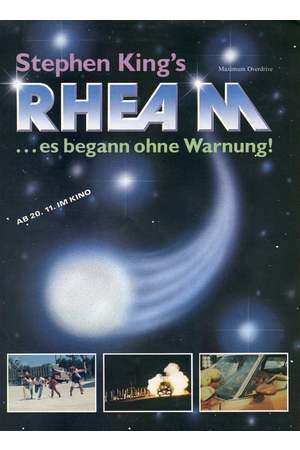 Poster: Rhea M - Es begann ohne Warnung