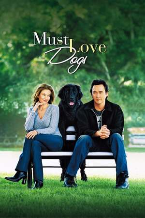 Poster: Frau mit Hund sucht Mann mit Herz