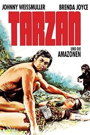 Poster: Tarzan und die Amazonen