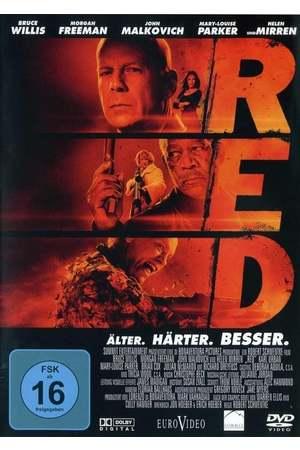 Poster: R.E.D. - Älter. Härter. Besser.