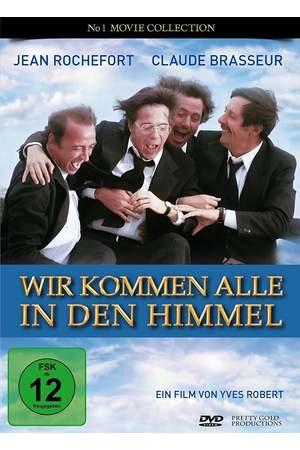 Poster: Wir kommen alle in den Himmel