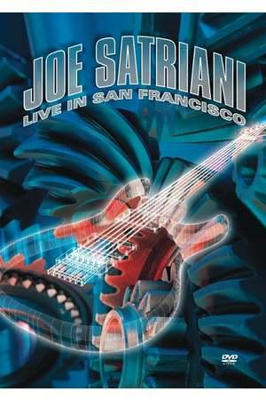 Poster: Joe Satriani: Live in San Francisco