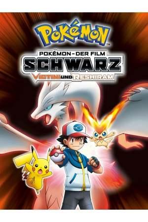 Poster: Pokémon 14: Schwarz - Victini und Reshiram