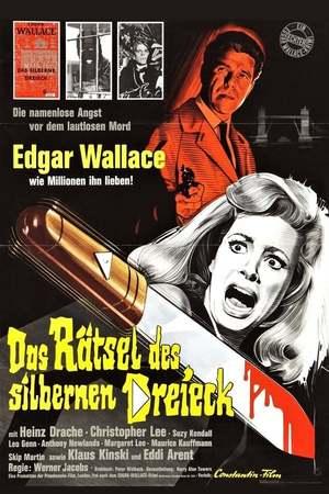 Poster: Edgar Wallace - Das Rätsel des silbernen Dreieck