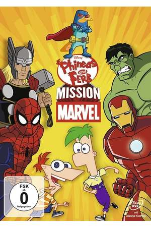 Poster: Phineas and Ferb: Mission Marvel
