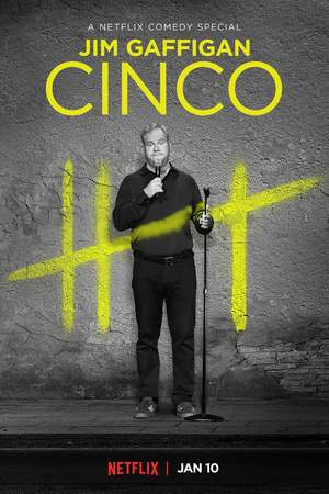 Poster: Jim Gaffigan: Cinco