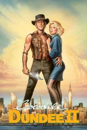 Poster: Crocodile Dundee II