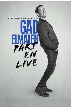 Poster: Gad Elmaleh - Part en Live
