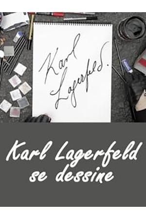 Poster: Karl Lagerfeld: Lebens-Skizzen
