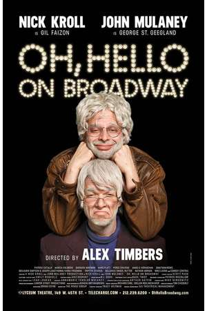 Poster: Oh, Hello on Broadway