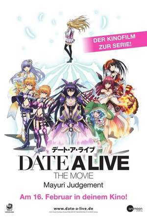 Poster: Date a Live: The Movie – Mayuri Judgement