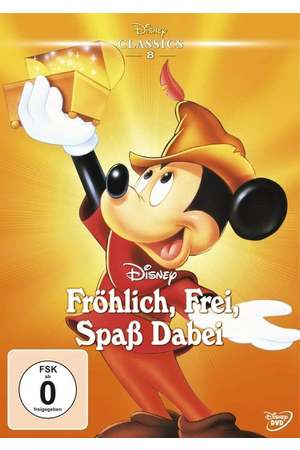 Poster: Fröhlich, frei, Spaß dabei