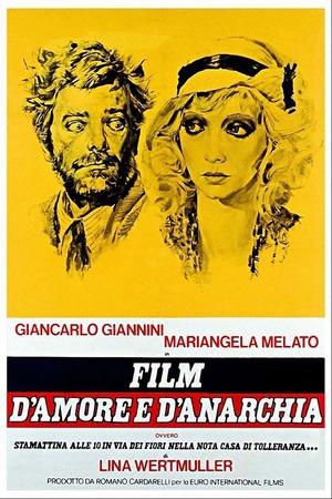 Poster: Liebe und Anarchie
