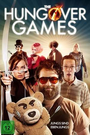 Poster: The Hungover Games