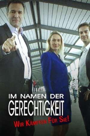 Poster: Im Namen der Gerechtigkeit – Wir kämpfen für Sie!