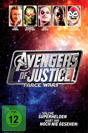 Poster: Avengers of Justice: Farce Wars