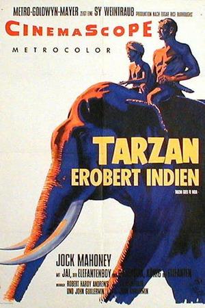 Poster: Tarzan erobert Indien