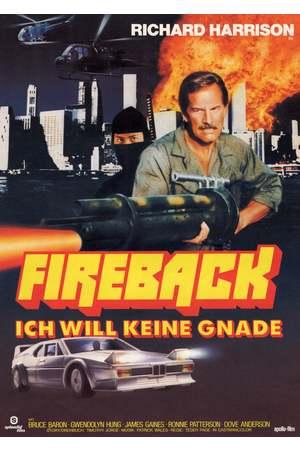 Poster: Fireback - Ich will keine Gnade