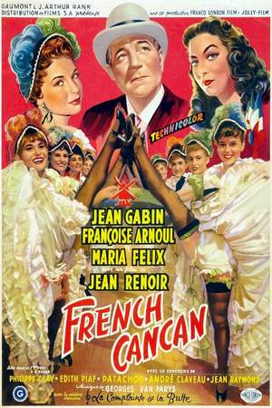 Poster: French Cancan