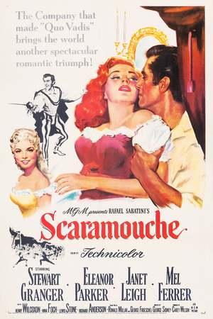 Poster: Scaramouche, der galante Marquis