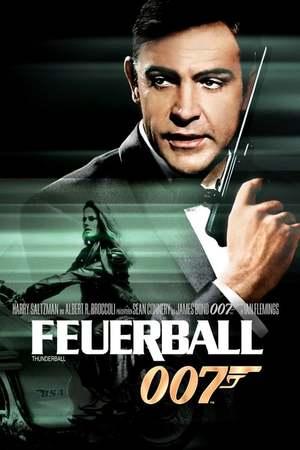 Poster: James Bond 007 - Feuerball