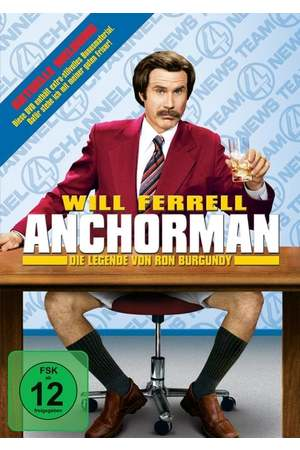 Poster: Anchorman - Die Legende von Ron Burgundy