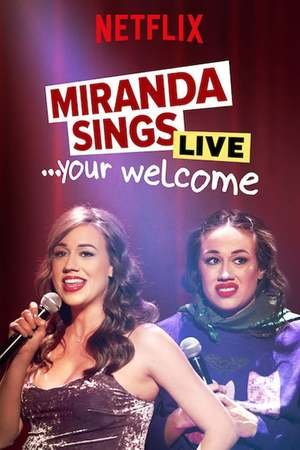 Poster: Miranda Sings Live... Your Welcome