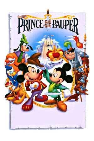 Poster: Mickys der Prinz und der Bettelknabe