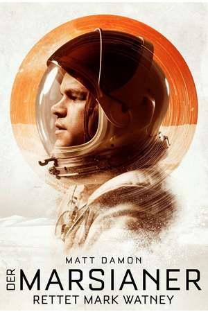 Poster: Der Marsianer - Rettet Mark Watney