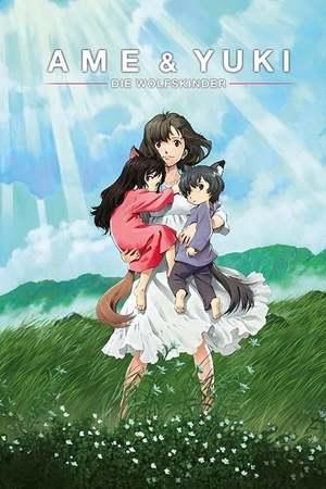Poster: Ame & Yuki - Die Wolfskinder