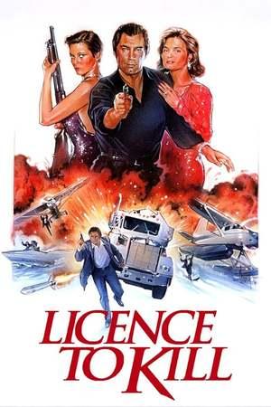 Poster: James Bond 007 - Lizenz zum Töten