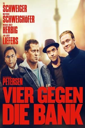 Poster: Vier gegen die Bank