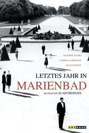Poster: Letztes Jahr in Marienbad