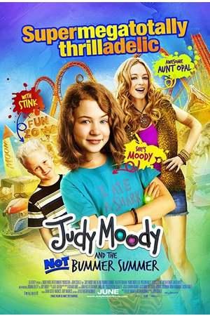 Poster: Judy Moody und der voll coole Sommer