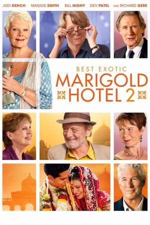 Poster: Best Exotic Marigold Hotel 2