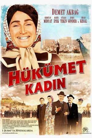 Poster: Hükümet Kadın