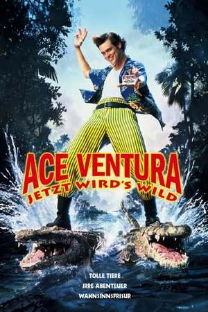 Poster: Ace Ventura - Jetzt wird's wild