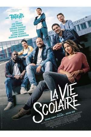 Poster: La vie scolaire – Schulalltag